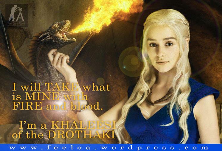 Khaleesi Game Of Throne Whatsapp Status Feeloa